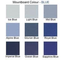 35cm x 35cm - Light Blue - Ref C245